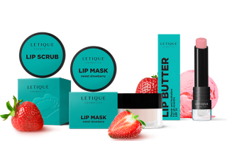 Sweet Strawberry Lip Set Letique